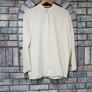 Anthropologie ISDA &CO 100% silk blouse small